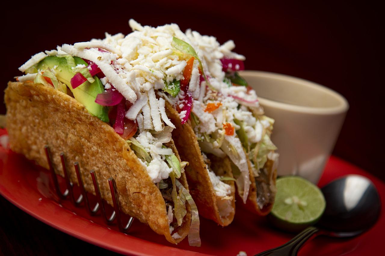 tacos, mexican, food